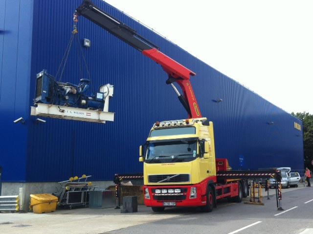 generator transport