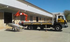 8ton crane truck rental